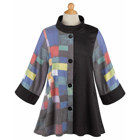 Modern Art Swing Jacket