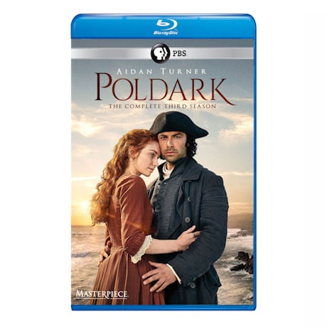Poldark: Season 3 UK Edition DVD & Blu-ray