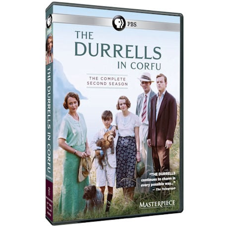 PRE-ORDER The Durrells in Corfu: Season 2