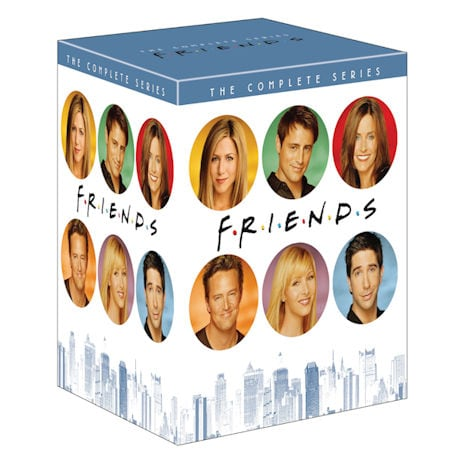 Friends: The Complete Series Collection DVD & Blu-ray