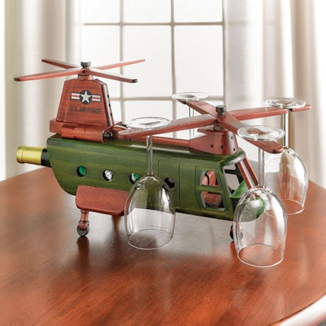 Helicopter Wine Rack