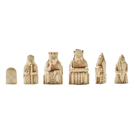 The Lewis Chessmen Chess Set