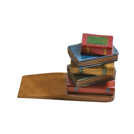 Stack of Books Doorstop