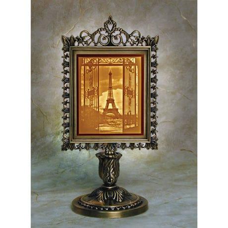 Eiffel Tower Lighted Lithophane