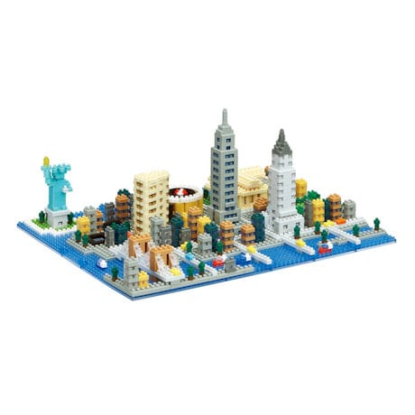 Nanoblock Micro-Sized Building Blocks New York City Set
