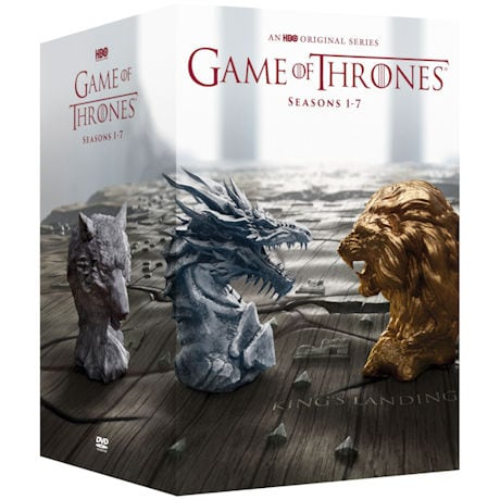 Game of Thrones: Complete Seasons 1-7 DVD & Blu-ray