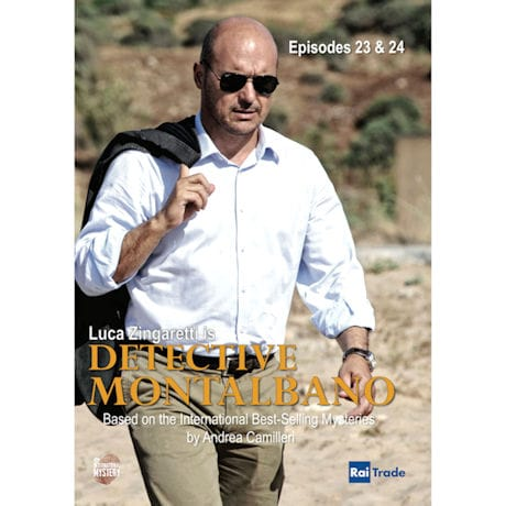 Detective Montalbano Episodes 23-24 DVD