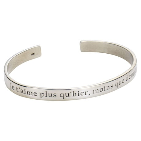 I Love You More Than Yesterday Bracelet