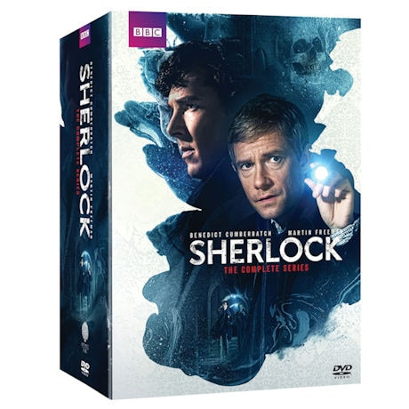 Sherlock: Seasons 1-4 & Abominable Bride Gift Set DVD & Blu-ray