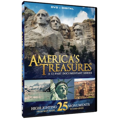 America's Treasures: A 12-Part Documentary Series Highlighting 25 Monuments