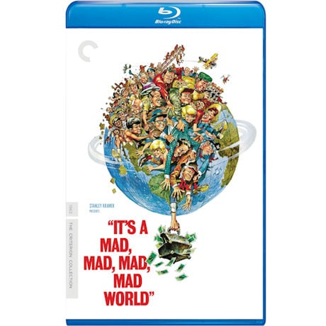 It's a Mad, Mad, Mad, Mad World DVD & Blu-ray
