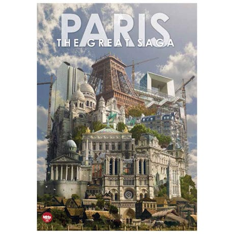 Paris: The Great Saga DVD