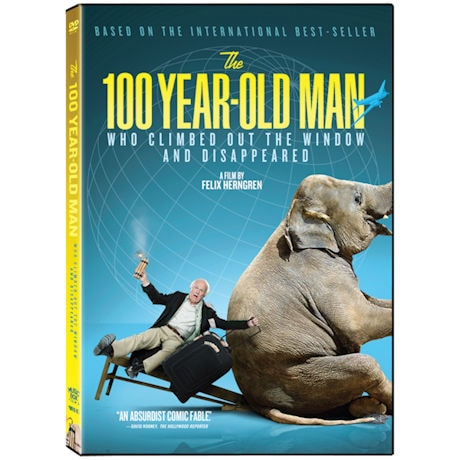The 100-Year-Old Man Who Climbed Out the Window and Disappeared DVD & Blu-ray