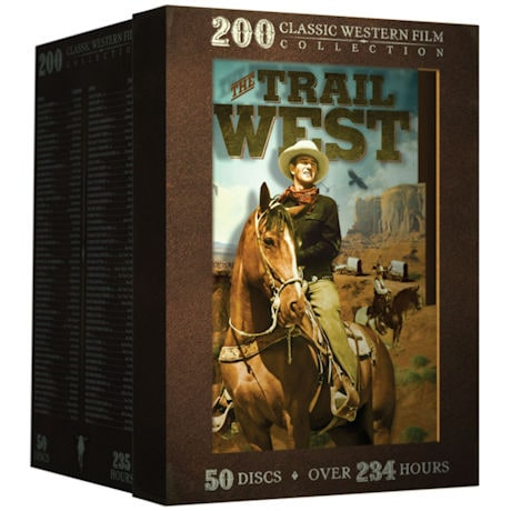 The Trail West: 200 Classic Western Films DVD