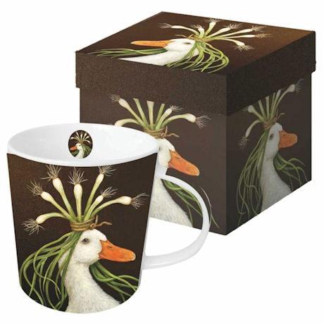 Wild & Wooly Mugs - Set of 4