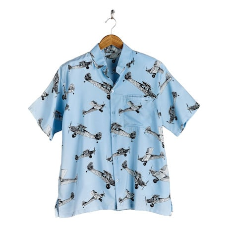 Men's Airplane Camp Shirt