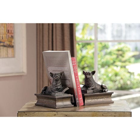 Corgi Bookends