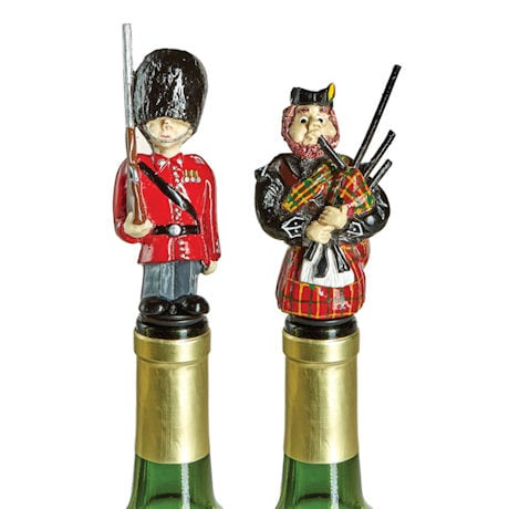 British Isles Wine Bottle Stoppers