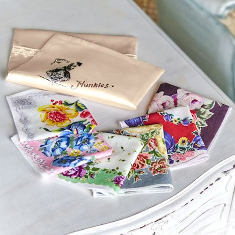 Hankies in a Pouch Set