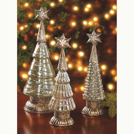Luster Glass Trees