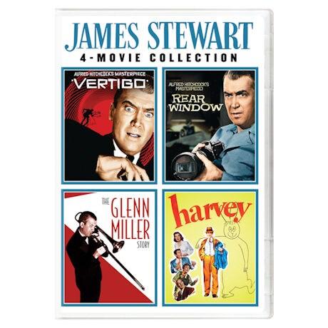 James Stewart 4-Movie Collection DVD