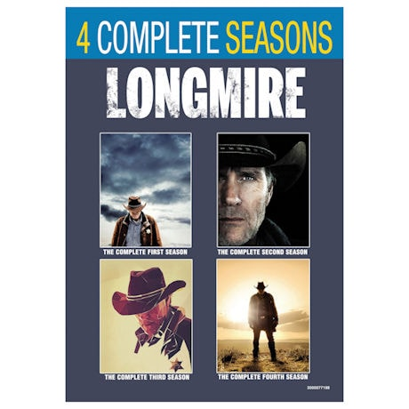 Longmire Seasons 1-4 Boxed Set DVD