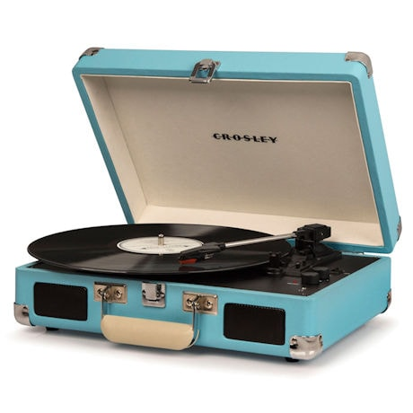 Crosley Cruiser Deluxe Portable Turntable