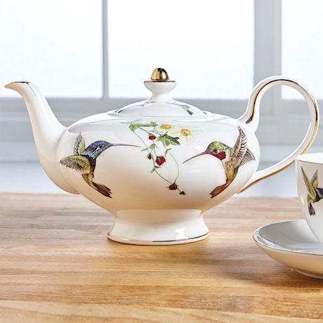 Hummingbird Teapot