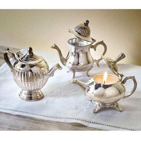 Petite Teapot Candle Trio