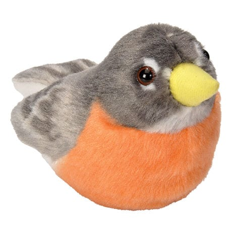 Audubon Plush Birds and Squirrel with Authentic Sounds