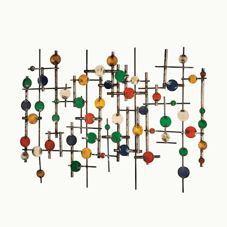 Recycled Metal Abstract Wall Décor