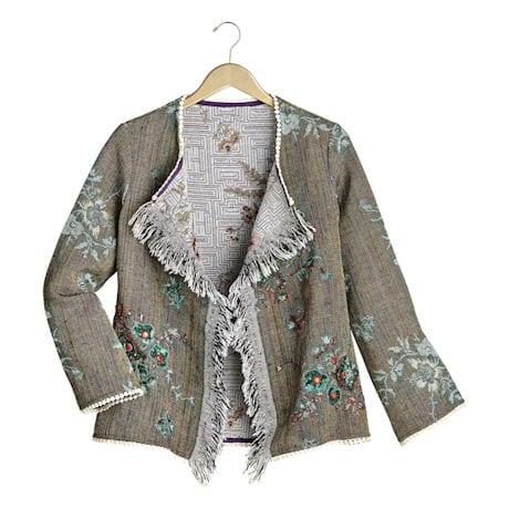Fringe Front Jacket