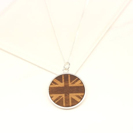Wood Necklace from a Tree on Sir Winston Churchill's Estate