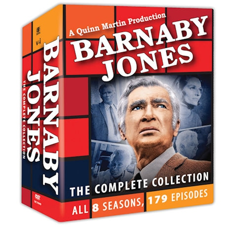 Barnaby Jones: The Complete Collection DVD
