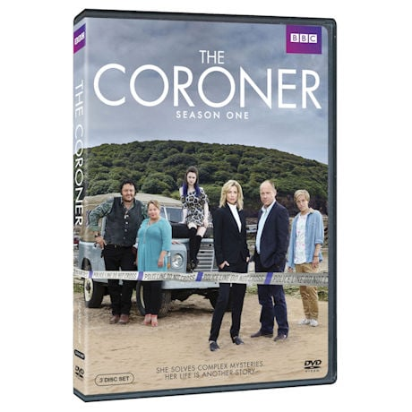 The Coroner Season One DVD