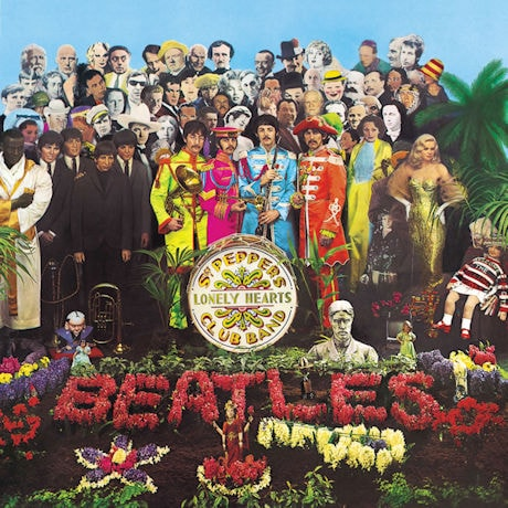 The Beatles: Sgt. Pepper's Lonely Hearts Club Band LP Vinyl Record
