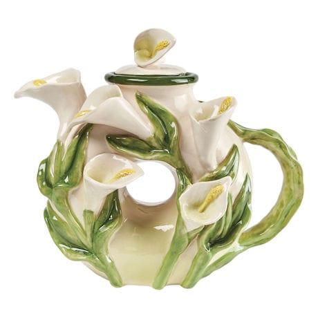 Calla Lily Teapot