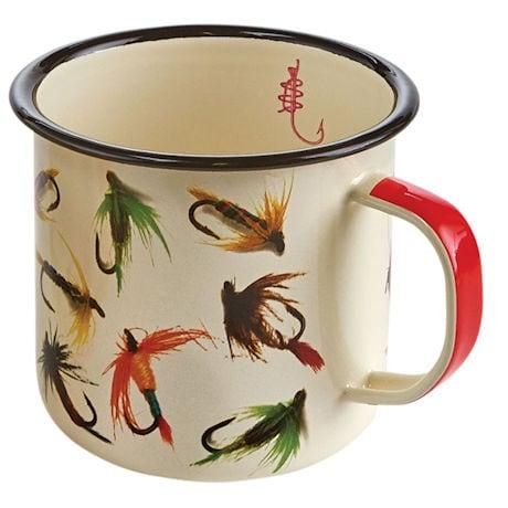 Lures Enamelware Mugs