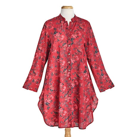 Red Roses Tunic