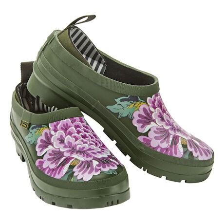 Floral Rain Clogs