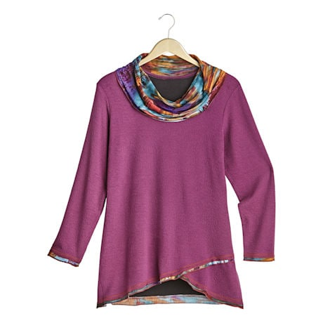Tie-Dye Crossover Tunic