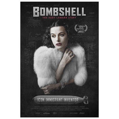 Bombshell: The Hedy Lamarr Story DVD & Blu-ray