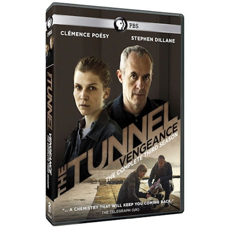 The Tunnel: Vengeance Season 3 (UK Edition) DVD