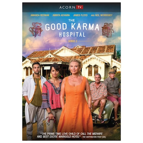 The Good Karma Hospital, Series 2 DVD & Blu-ray