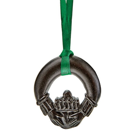 Claddagh Peat Ornament