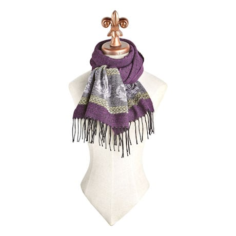 Celtic Thistle Scarf