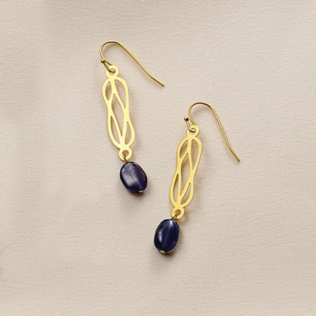 Herculean Knot Earrings