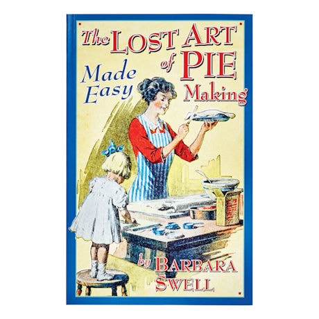 Porcelain Pie Bird and Lost Art of Pie Making Book