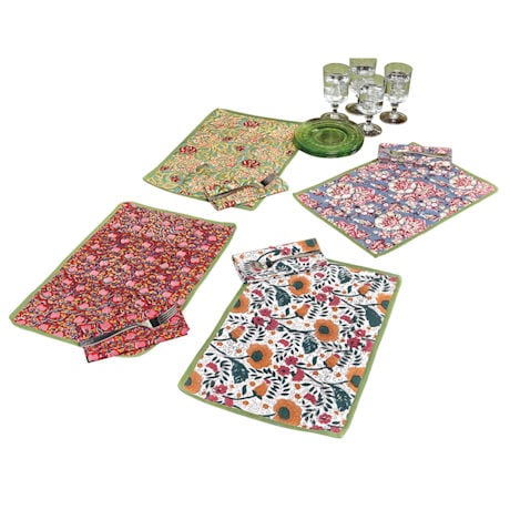 Jaipur Hand-Printed Placemats