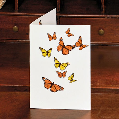 Pop-Up Butterflies Note Cards